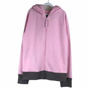 Gap French Terry Hooded Zip Front Sweatshirt NWOT